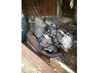 Piaggio Gilera / vespa 125 4 stroke engine