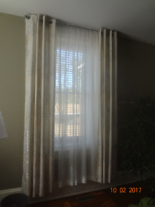 "108"" LONG CURTAIN PANELS"