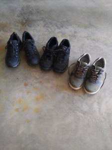 Men's Fila and clarks shoes