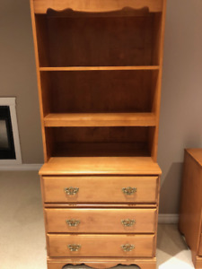 Gorgeous Canadian Made Dresser & Shelving