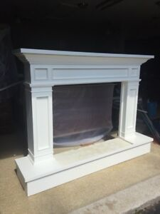 Custom Wood Fireplace Mantel
