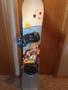 Mole Fly Girl 38 snowboard.
