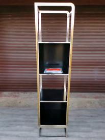 Sonder Living Boyd Metal Mix Etagere Right Pier Shelving Unit Bookcase