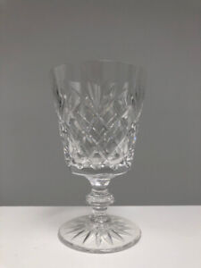 (6) Elegant Vintage Crystal Water/Wine Glasses