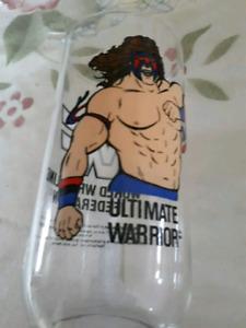 Vintage Ultimate Warrior Glass