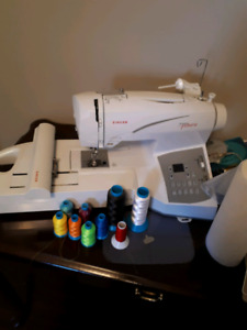 Singer Quantum Futura sewing and embroidery machine