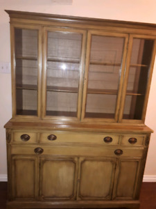 Side Board Hutch Cabinet