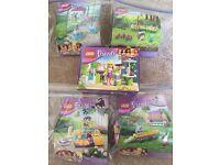5 packs Lego Friends
