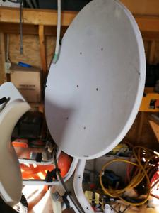 Satelite dish 50 bucks obo