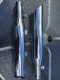 Harley Davidson sportster exhausts