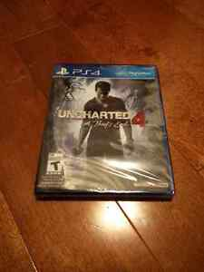 UNCHARTED 4 -  PS4 (SEALED)