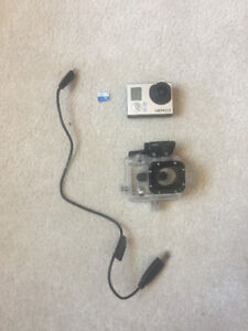 GoPro Hero 3 Camera with Casing and cords