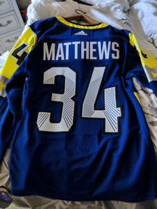 Toronto Maple Leafs Auston Matthews All-star jersey Brand-new