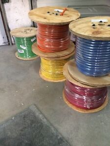 Coloured welding cable , coloured extension cords
