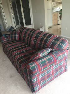 Perfect Plaid Lazyboy Couch