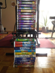 vhs disney collection good condition ( obo)(free dvd/vhs player)