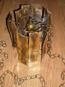 Brass? Artisanat LEC Montreal Hanging Ceiling Light Lamp Fixture