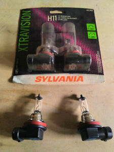 *NEW* H11 Sylvania Xtravision Head Lights