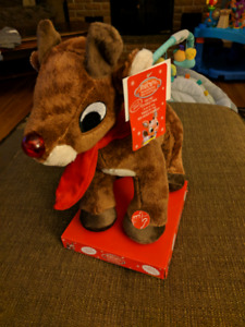 Rudolph baby toy