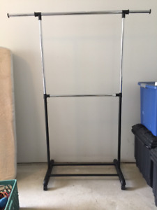 Clothing racks x 2 - $10 each