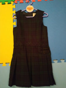 Two brand new pleated jumper dress for girls size 6 &7