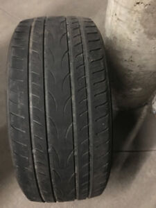 4 Yokohama Summer tires, 245/45R18 96W