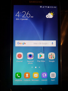 cell phone GALAXIE S5 NEO ..!.NEUF 225$