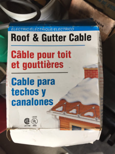 Roof and Gutter Cable