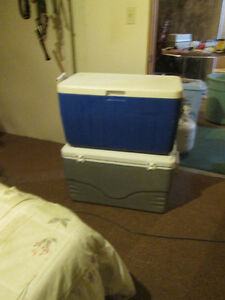 2 Coolers - $15.00 each or 2/25