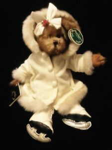 Darling Dorothy Bearington Ice Skater Collectible Beanie Bear