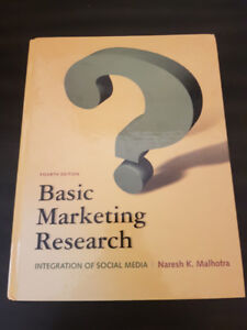 NSCC Textbook - Basic Marketing Research - 4th Edition