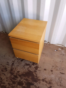 IKEA nightstand 2 drawers