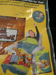 Brand New Homer Simpson Snuggle Blankets -Two Designs $29/ea Kitchener / Waterloo Kitchener Area image 7