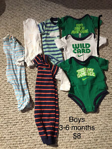 Baby boys clothes size 3-6 months