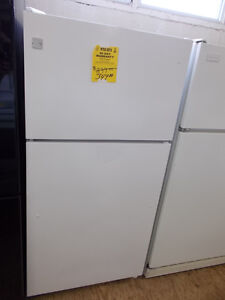 Kenmore fridge with 90 day warranty. $349.