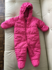 Girls 6-12 month Gap snowsuit