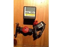 BOSCH CROSS-LINE LASER & CLAMP **A1 CONDITION**