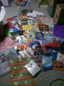 Gift Bags, Tissue Paper and bows