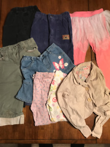 Girl's Size 7 Clothing - 15 Items