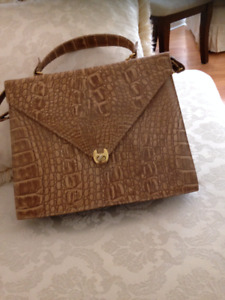 Brand new leather brown purses