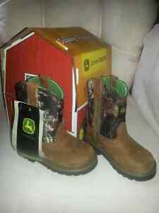 Little Poppers cowboy boots
