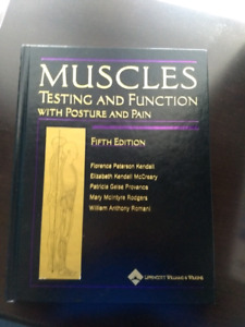 Muscles: Testing and Function; Posture and Pain Textbook