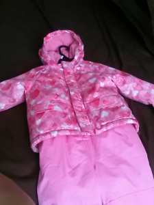 Toddler snow suits for sale- girls sold