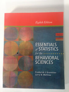 Essentials of Stats for Behavioral Sciences 8th Ed.