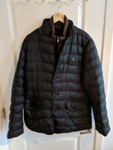 Aviva Men's Black Fall/Winter Coat/Jacket