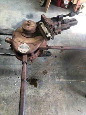 Parker Hannifin Model 848 Maintenace Ratchet Manual Crank Tubing Tube Bender