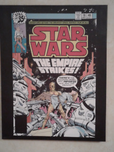 Star wars comic book cover picture.