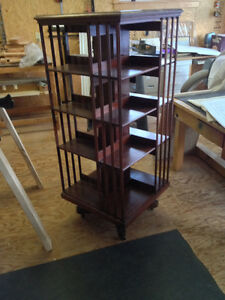 Antique Revolving Bookcase
