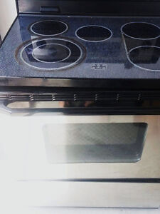 Whirlpool Glass Top Stainless Self-cleaning Oven London Ontario image 2