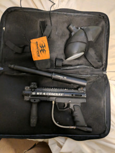 Bt 4 combat paintball gun